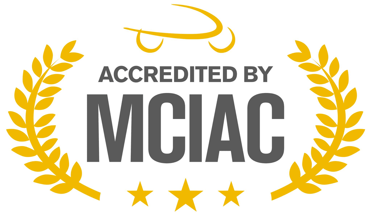 Accredited by MCIAC